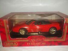 Mira 6101 Ferrari 348 1989 Rojo 1/18 mint & boxed