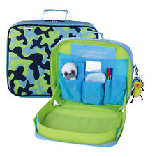 Travel Extending TrayKit Backpack in Blue Cameo Fabric
