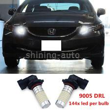 Super white 9005 HB3 Daytime Running Light LED bulb DRL For Honda Acura TL car F