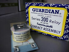 Guardian A490-357016-00 Series 200 Relay Contact Assembly 725 Ohms 120A NOS