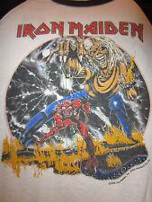 True Vintage IRON MAIDEN Concert T-Shirt Tour Shirt 1982-1983 Concert Jersey