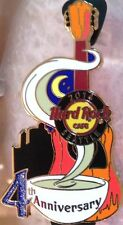 Hard Rock Cafe SEATTLE 2014 4th Anniversary PIN Coffee Cup Guitar - HRC #76355
