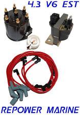 Allumage Rénovation Kit Pour 4.3L V6 Delco Est, Mercruiser, Volvo Penta, Omc