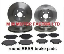 Ford Mondeo Mk3  2000-  1.8 2.0 TDci Front & Rear Brake Discs And Pads Set New