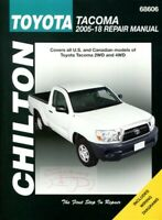 TACOMA SHOP MANUAL TOYOTA SERVICE REPAIR BOOK CHILTON 2005-2018