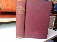 1922 WITH THE BRITISH BATTLE FLEET BY COMMODORE G. VON SCHOULTZ PLATES WW1 NAVY
