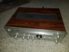 Optonica Sharp Vintage Wooden Case Stereo Receiver Amplifier Amp Rare Free ship
