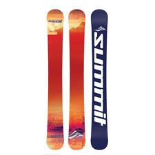 Summit Custom 110cm Skiboards Snowblades + Kit to Use your Snowboard Bindings
