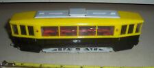 Siku Germany V40 rare plastic streetcar tram Strassenbahn black yellow 1955-1963