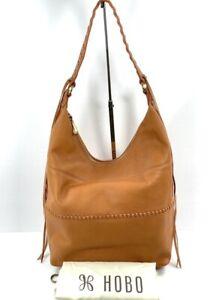 Hobo Entwine Whiskey Hobo Handbag + Hobo Dust Bag NWT $298