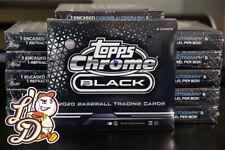 2020 Topps Chrome Black - Live (1) Box Break - Pick Your Team (001)