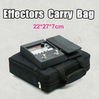 27*7*22cm Effects Pedal Board Bag Universal Bag Case Guitar Pedal Storage Case