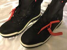 "Timberland PRO Mens 6 "" Valor Soft Toe Side Zip Work Boot Black Leather 11"