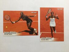 SERENA & VENUS WILLIAMS MINT 2003 NETPRO ROOKIE CARDS ! TENNIS 🎾 👍👏👏👏