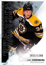 2013-14 Sp Authentic #214 Carl Soderberg