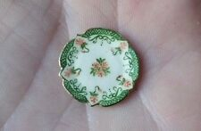 Dollhouse Artisan Miniature Teresa Welch China Closet Small Plate