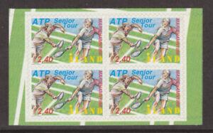Aland 1998 Sport, ATP Tennis Tour Block of 4 self adhesives stamps MNH / UNM