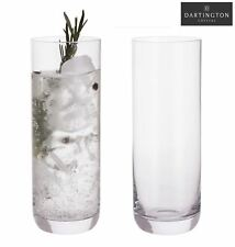 Dartington Crystal Wine & Bar Set of 2 Slim Gin Hiball Highball Glasses 400ml