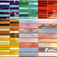 Glass Slivers Mosaic tiles for arts and crafts - Various Colours