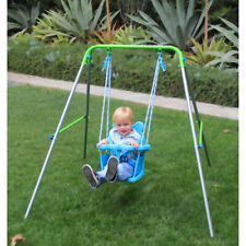 Portable Toddler Swing Seat Toy Small Mini Indoor Play Room Outdoor Playground