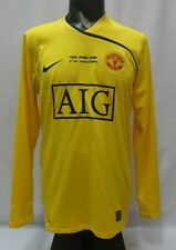 Van Der Sar 1 Manchester United Champion League Final 2009 shirt GK goalkeeper