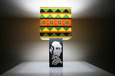 Handmade 'Bob Marley' Lamp + Album Cover Lampshade, three little birds