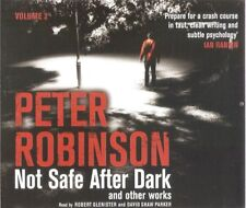 Peter Robinson - Not Safe After Dark: Vol 2 (4xCD A/Book 2007) *NEW/UNSEALED*