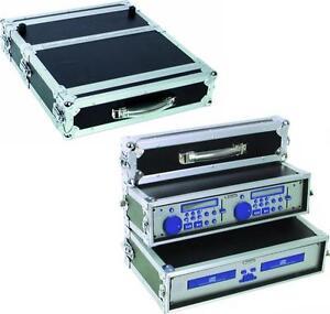 "2HE PROFI Doppel-CD-Player-Case Tour Pro 19""  - DJ-Rack für Doppel-CD-Player NEU"