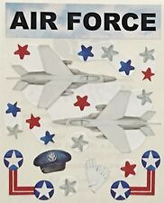 Creative Memories Air Force Stickers Scrapbooking Military Aeroplane Airforce