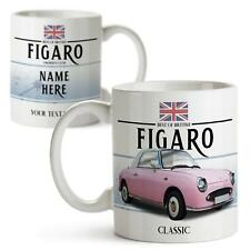Personalised Nissan Figaro Pink Mug Classic Car Cup Fathers Day Dad Gift CM42