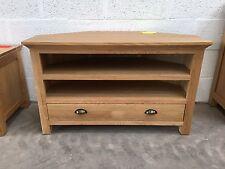 Oak Corner tv cabinet - Oak Corner Tv Stand - Oak Corner Tv Table