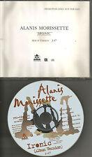ALANIS MORISSETTE Ironic PICTURE DISC version 1996 USA PROMO DJ CD single 8035