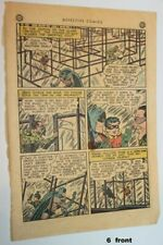 1948 DETECTIVE COMICS #140 page 6 only 1st golden age app. THE RIDDLER! CGC it!