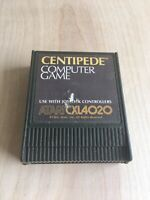 Centipede Computer Game Cartridge 1982 Atari CXL4020 for 400/800/XL/XE VTG