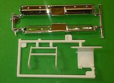 1977 Chevy GMC 4x4 Pickup Truck 1/24 chrome front rear bumper push brush guard