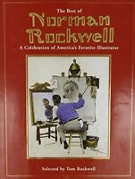Best of Norman Rockwell by Tom Rockwell Art Treasury Hardcover Collectible Book