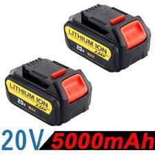 2X 5.0AH 20V Battery For Dewalt DCD785 DCB180 DCB181 DCB200 with Fuel Guage