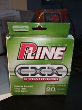 P-Line CXX Xtra Strong Fishing Line 20lbs x 300yds  ~ Moss Green ~ New