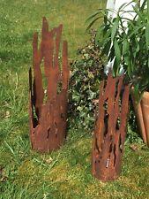 Windlicht * Treibholz * Fackel Laterne Edelrost Gartenfackel Feuerstelle 55cm S