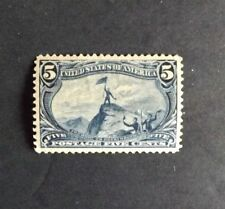 Mint Us Stamps - Scott 288 5c Trans-Mississippi Issue Xf-Superb Og Lh