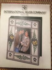 International Silver Company-Photo Album Holds 100 pictures NEW