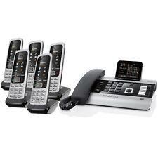 Gigaset DX800A ISDN-/ VoIP Mini-Tel.-Anlage mit 5x Mobilteil C430H, Faxanschluss