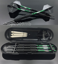 3 pcs Straight Darts 22g Professional Dart in Green Suit Darts for Sporting Game