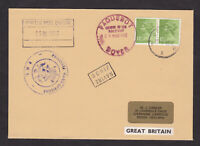 GB Great Britain 1985 Paquebot Cover