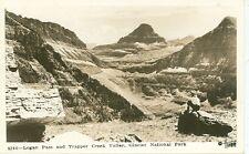 GLACIER NATIONAL PARK-LOGAN PASS-TRAPPER CREEK VALLEY-#8246-RPPC(RP#1-745)