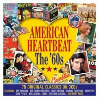 AMERICAN HEARTBEAT - THE '60S - VARIOUS ARTISTS - 75 ORIGINALS (NEW SEALED 3CD)