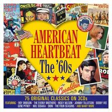 American Heartbeat The 60s Roy Orbison Sam Cooke Dion Del Shannon More 3 CD Set