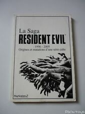 Livre La Saga Resident Evil 1996 - 2005 / Playstation 2 Magazine [ Version Fr ]
