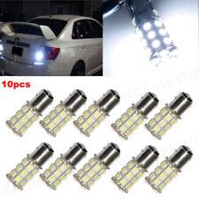 10pcs 1156 BA15S Car 5050 LED 27SMD Brake Backup Reverse Bulb Kit White 6000K