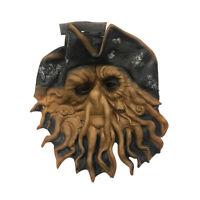 Pirate Squid Mask Davy Jones Pirates of the Caribbean Cthulu Octopus Sea Costume